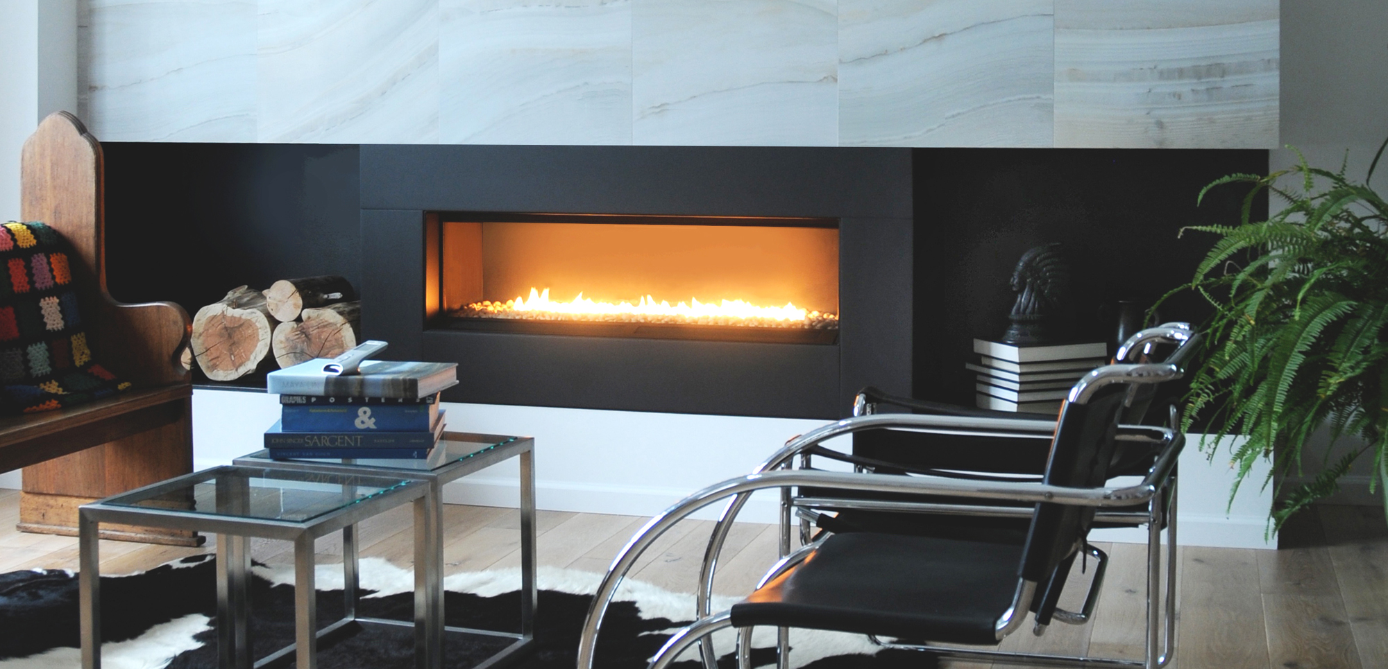 modern cdn ideas gas glass rocks with design fireplace interior fireplaces picture top inserts insert