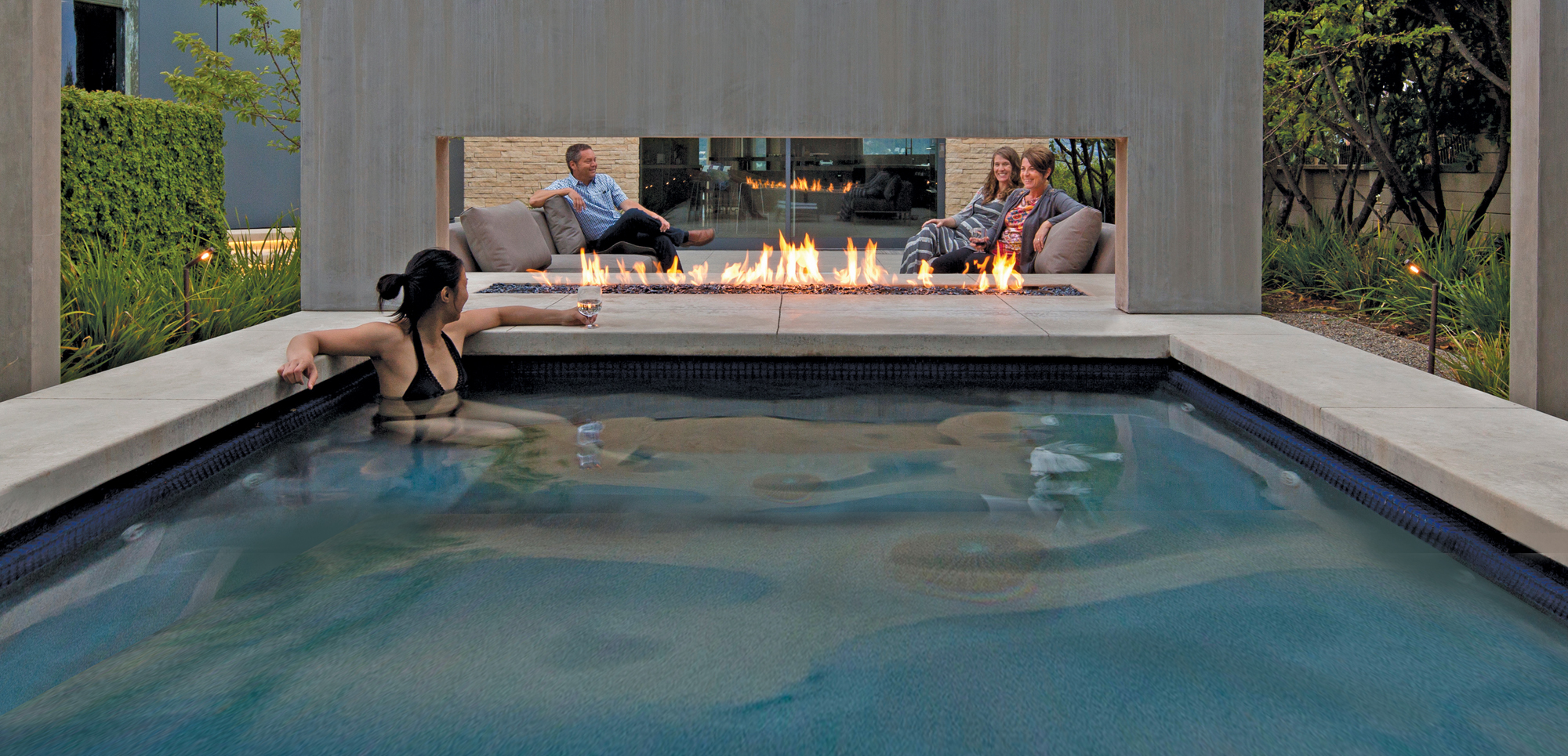 spark modern fires contemporary gas fireplaces for luxury