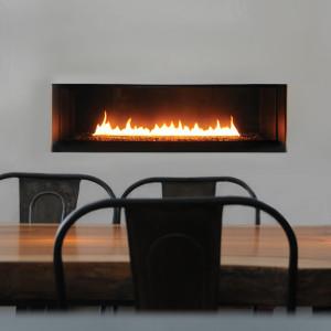 Fire Ribbon Direct Vent Single Vu Spark Modern Fires