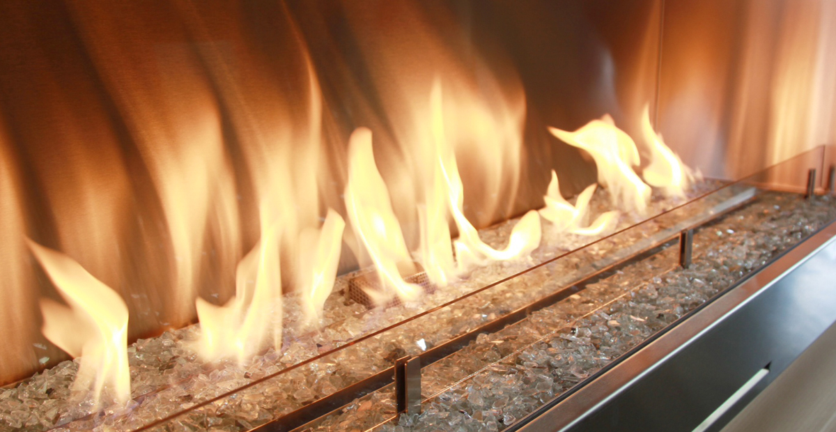 Fire Ribbon Outdoor - Spark Modern Fires