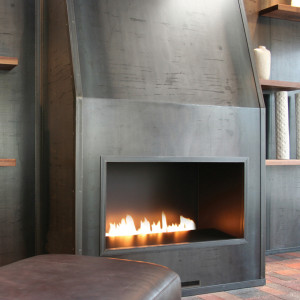 Fire Ribbon Vent Free Single Vu Spark Modern Fires