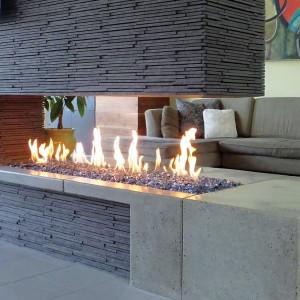 Linear burner system indoor spark modern fires for Building an indoor fireplace