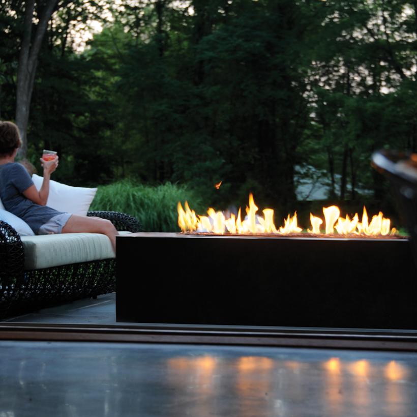 Linear Burner System - Outdoor - Spark Modern Fires