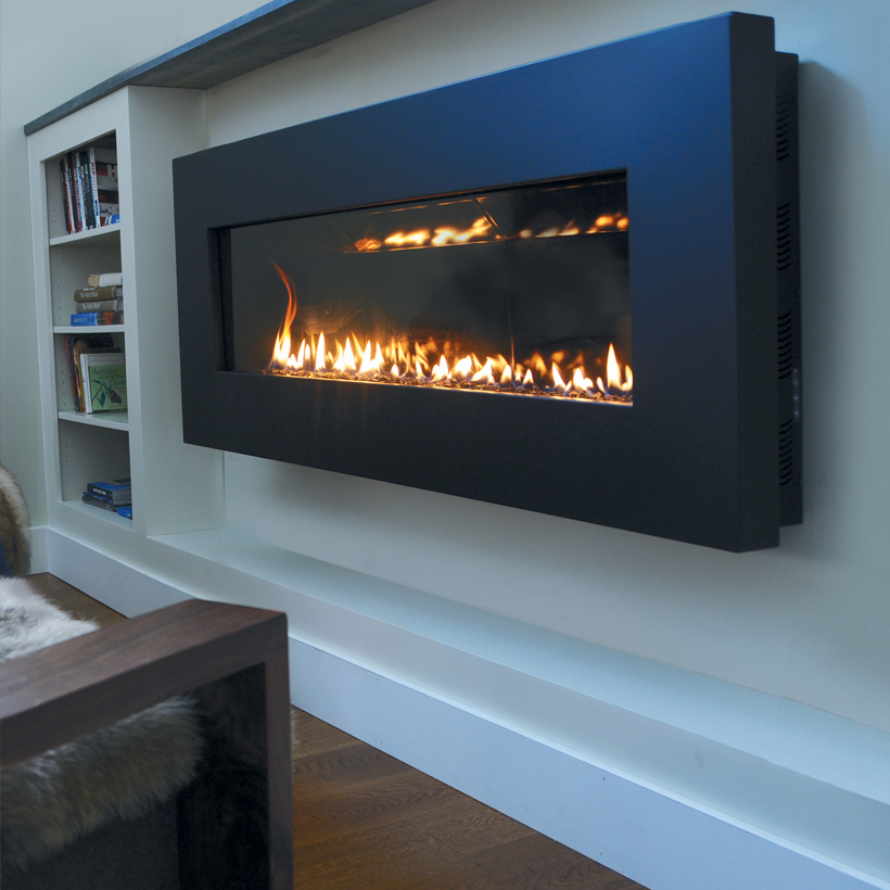 Fire Ribbon Direct Vent Slim - Spark Modern Fires