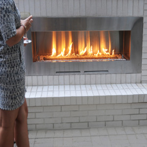 Fire Ribbon Outdoor Spark Modern Fires