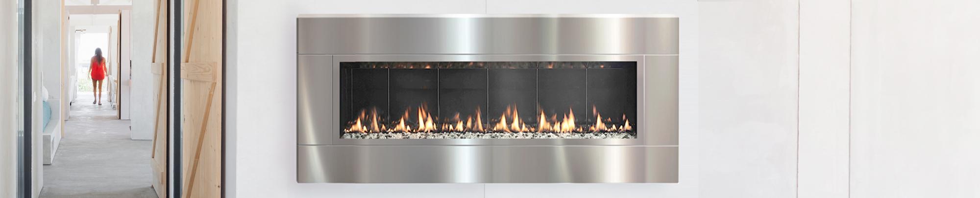 fire ribbon vent free slim spark modern fires