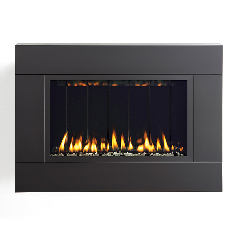 Fire Ribbon Vent Free Slim Spark Modern Fires