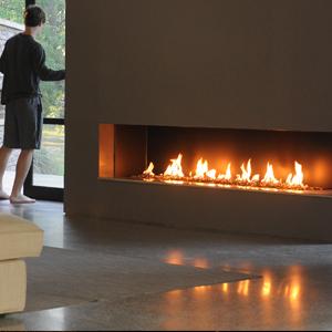 Linear Burner System - Indoor - Spark Modern Fires
